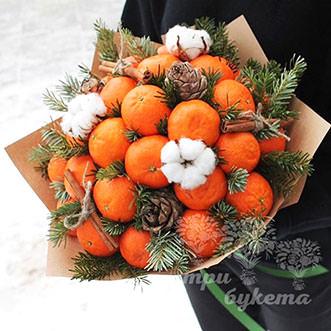 buket-mandarinov-v-krafte