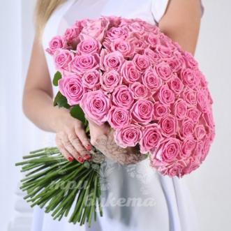 101-rozovaya-roza-40-sm